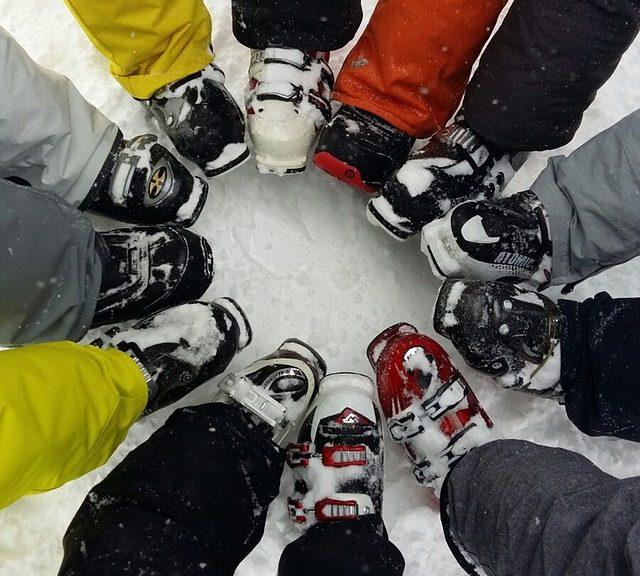 ski boot photo