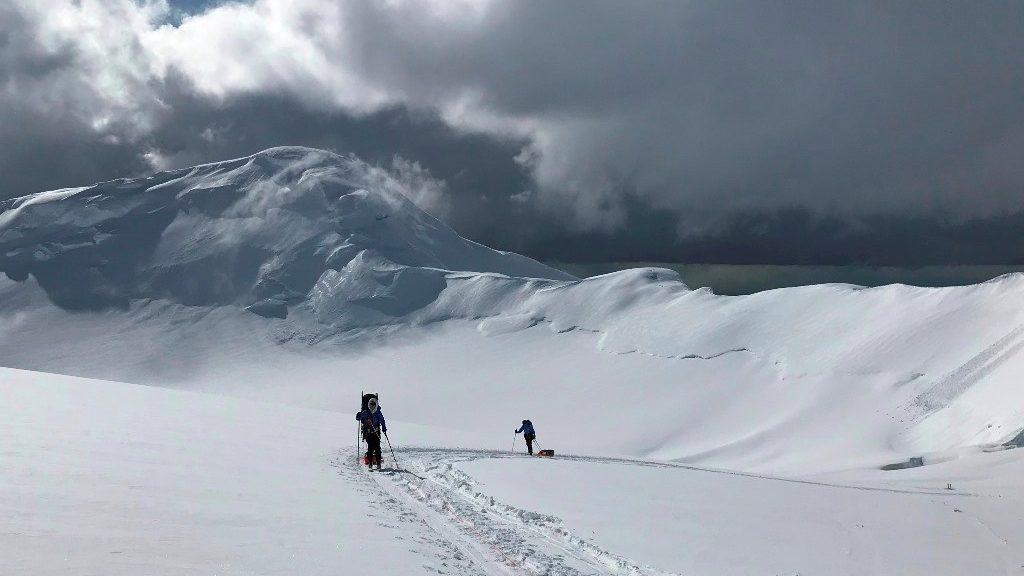 denali ski touring
