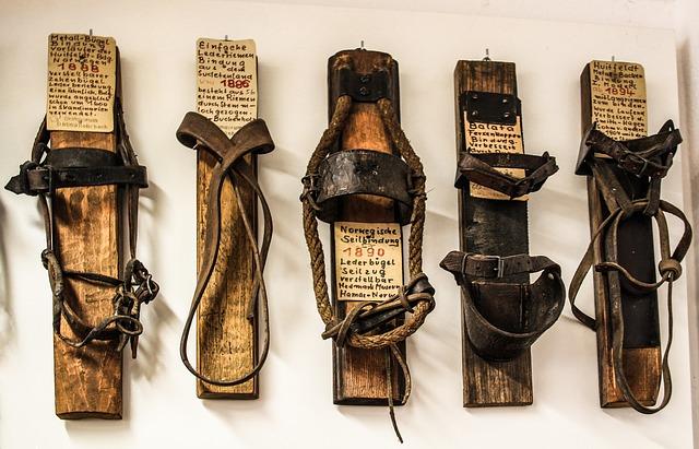 vintage ski bindings